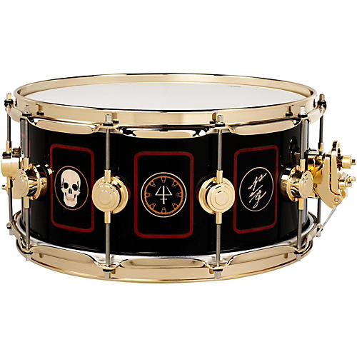 DW Collector's Series Neil Peart Rush Icon R40 Snare Drum