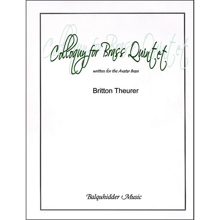 Carl FischerColloquy for Brass Quintet Book