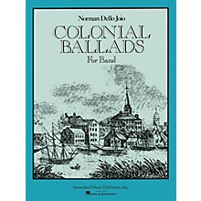Associated Colonial Ballads (Score and Parts) Concert Band Level 4-5 Composed by Norman Dello Joio