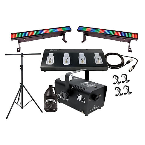 CHAUVET DJ Color Strip Mini and Fog Machine System-thumbnail