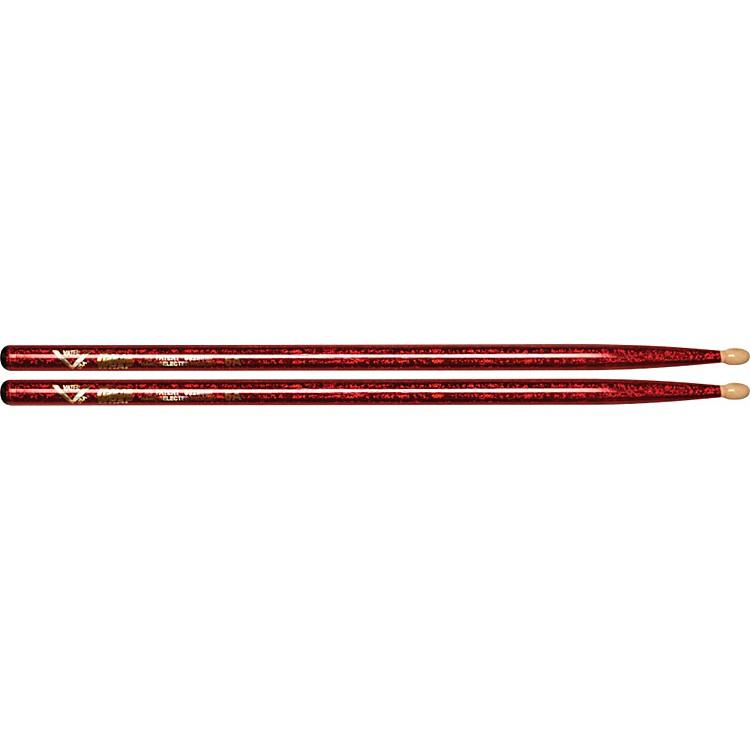 VaterColor Wrap Wood Tip Sticks - Pair5ABlack Optic