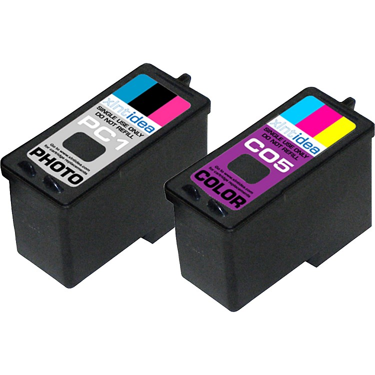 XLNT Idea Color and Photo Ink Cartridge Combo