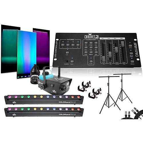 CHAUVET DJ Colorband Pix M DMX4MF Dual System with Fog