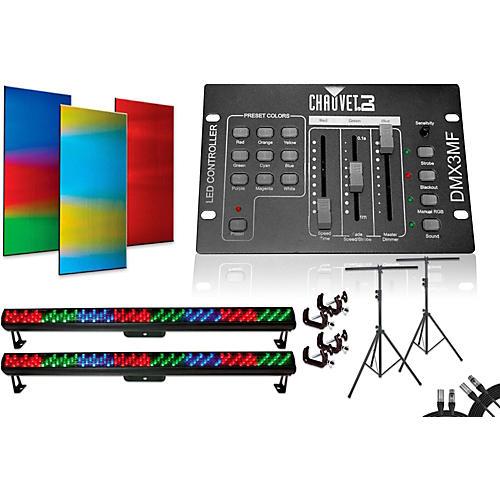 CHAUVET DJ Colorrail DMX3MF 2 Bar Light System-thumbnail