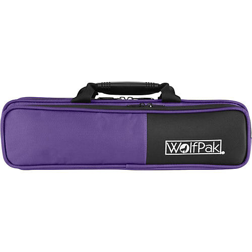 WolfPak Colors Series Lightweight Polyfoam Flute Case Purple