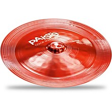 Paiste Colorsound 900 China Cymbal Red 14 in.