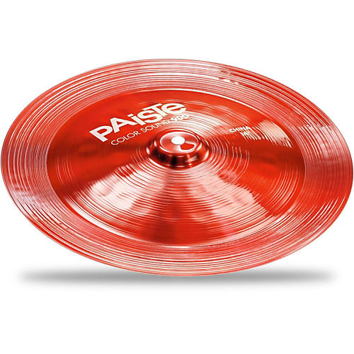 Paiste Colorsound 900 China Cymbal Red-thumbnail