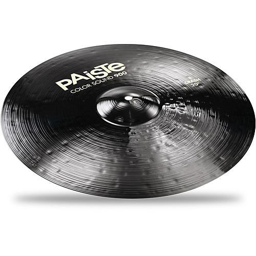 Paiste Colorsound 900 Crash Cymbal Black-thumbnail