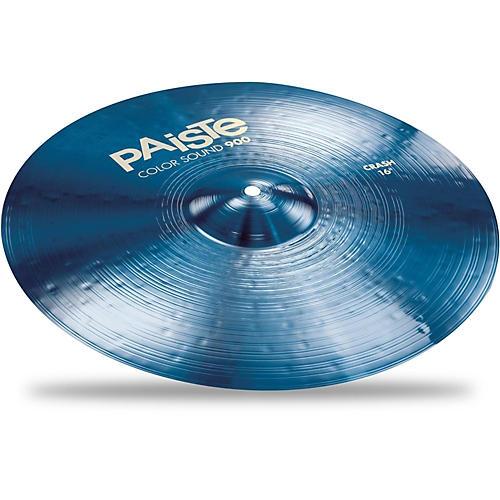 Paiste Colorsound 900 Crash Cymbal Blue