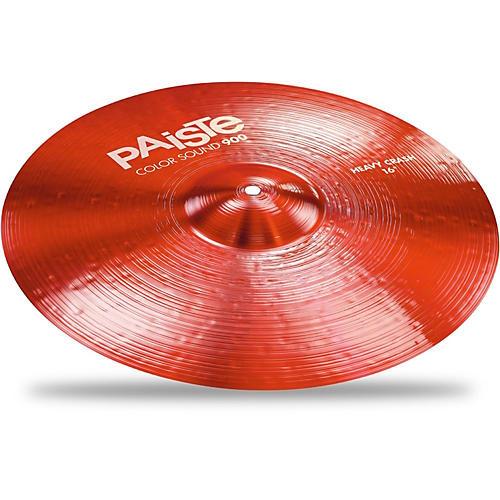 Paiste Colorsound 900 Heavy Crash Cymbal Red-thumbnail