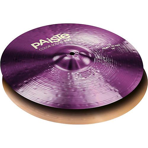 Paiste Colorsound 900 Heavy Hi Hat Cymbal Purple-thumbnail
