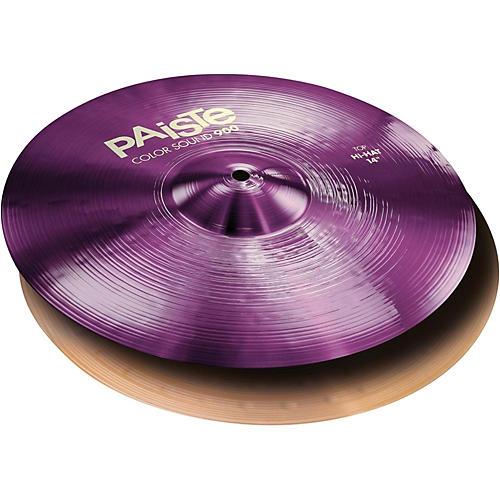 Paiste Colorsound 900 Hi Hat Cymbal Purple-thumbnail