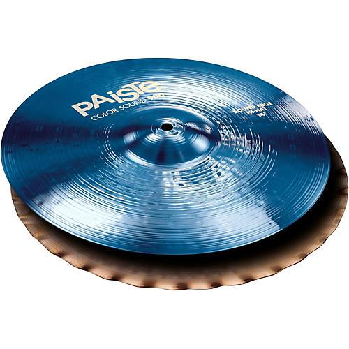 Paiste Colorsound 900 Sound Edge Hi Hat Cymbal Blue-thumbnail