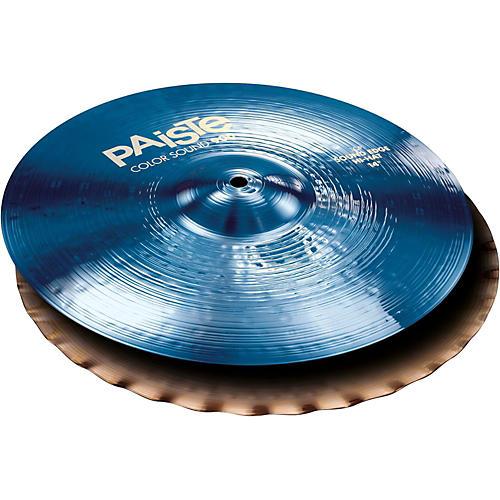 Paiste Colorsound 900 Sound Edge Hi Hat Cymbal Blue