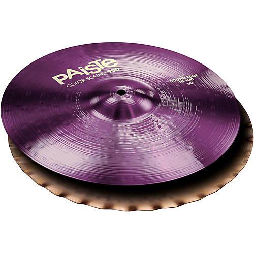 Paiste Colorsound 900 Sound Edge Hi Hat Cymbal Purple-thumbnail