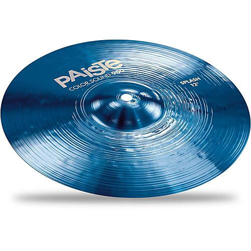 Paiste Colorsound 900 Splash Cymbal Blue-thumbnail