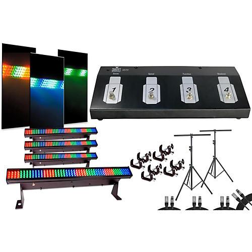 CHAUVET DJ Colorstrip Mini 4 Bar Light System