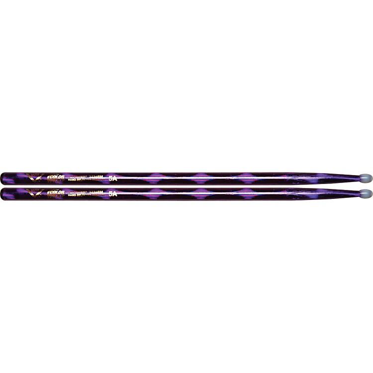 VaterColorwrap Nylon Tip Sticks - PairRed Sparkle5A