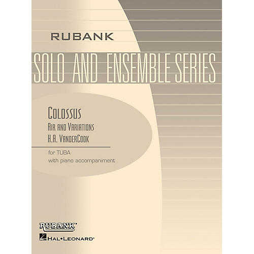 Rubank Publications Colossus - Air and Variations Rubank Solo/Ensemble Sheet Series Softcover-thumbnail
