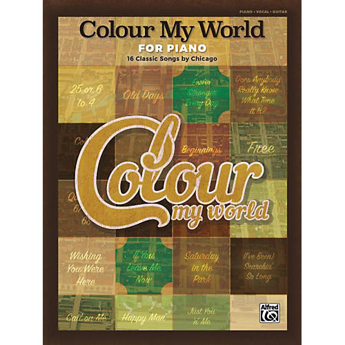 Alfred Colour My World for Piano Piano/Vocal/Guitar Songbook-thumbnail