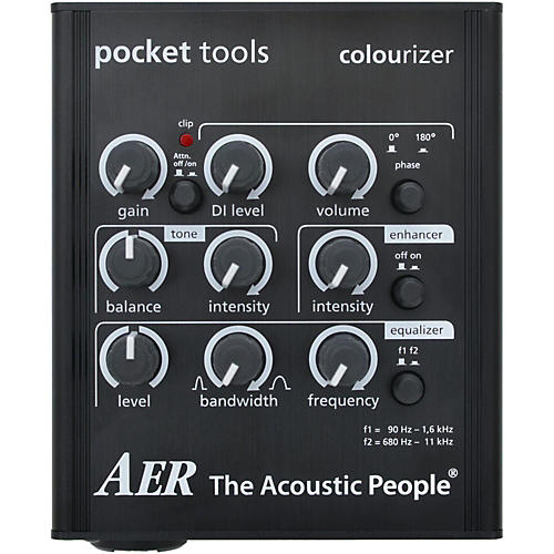 AER Colourizer-2 Acoustic Guitar Direct Box and Preamp-thumbnail