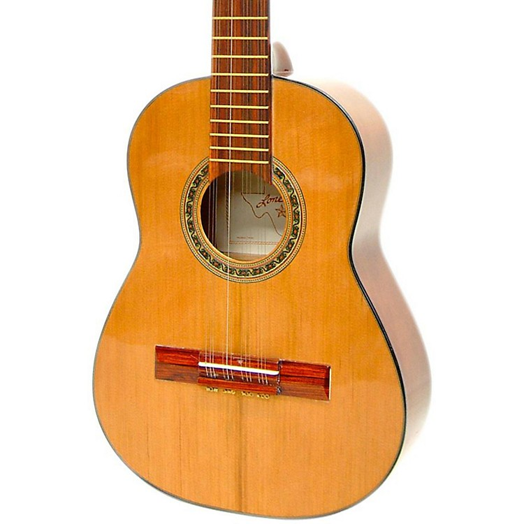 Paracho Elite Guitars Columbian Tiple 12-String Classical Acoustic Guitar Natural