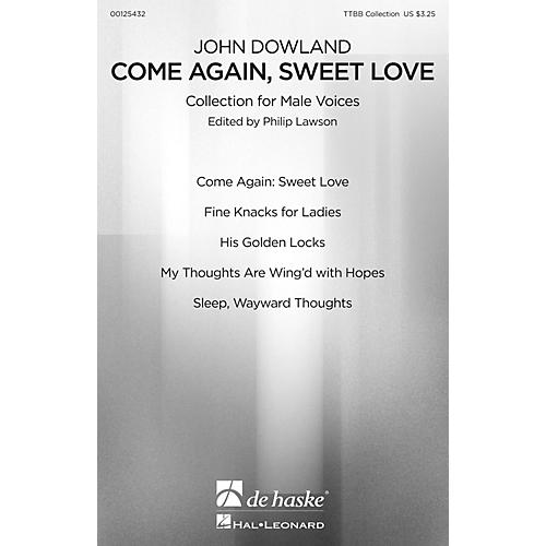 De Haske Music Come Again, Sweet Love (Collection for Male Voices) TTBB Collection composed by John Dowland-thumbnail