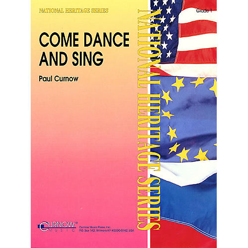 Curnow Music Come Dance and Sing (Grade 1 - Score Only) Concert Band Level 1 Composed by Paul Curnow-thumbnail