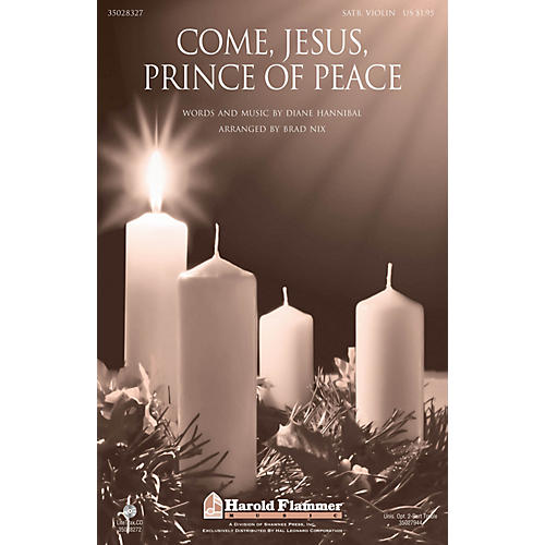Shawnee Press Come, Jesus, Prince of Peace SATB arranged by Brad Nix-thumbnail