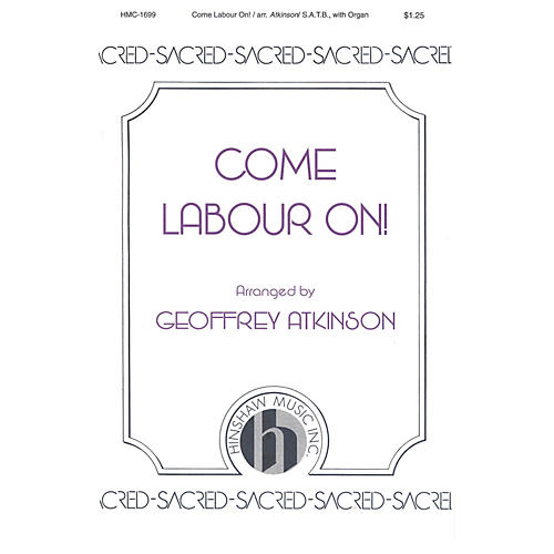 Hinshaw Music Come Labour On SATB composed by John Scott-thumbnail