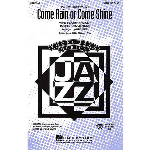 Hal Leonard Come Rain or Come Shine IPAKR Arranged by Mac Huff-thumbnail