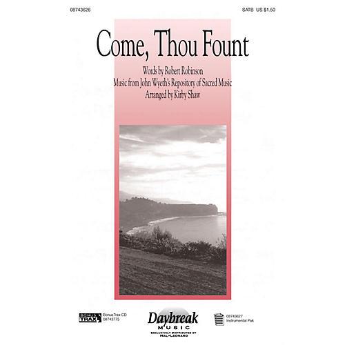 Hal Leonard Come Thou Fount I-pak IPAKR Arranged by Kirby Shaw