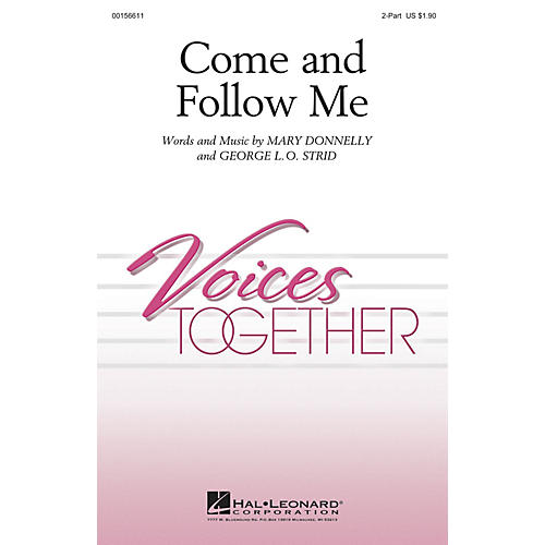 Hal Leonard Come and Follow Me 2-Part composed by Mary Donnelly-thumbnail
