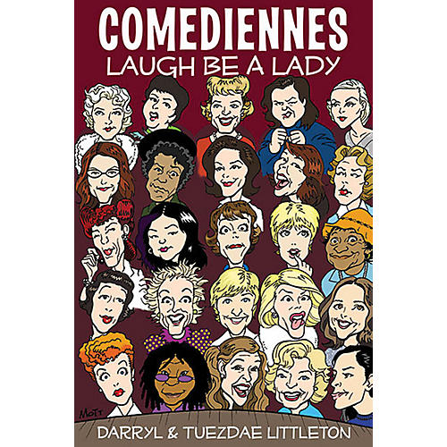 Applause Books Comediennes (Laugh Be a Lady) Applause Books Series Softcover Written by Darryl J. Littleton-thumbnail