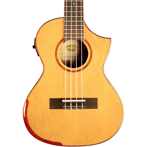 Kala Comfort Edge Tenor Ukulele with EQ and Florentine Cutaway-thumbnail