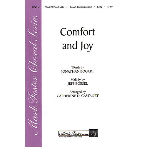 Shawnee Press Comfort and Joy SATB a cappella arranged by Catharine D. Castanet-thumbnail