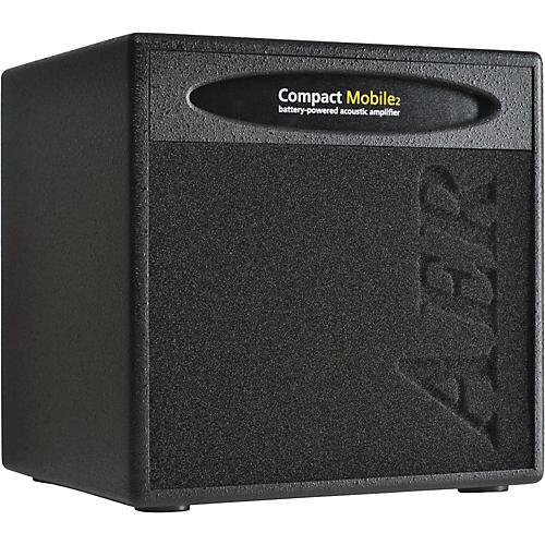 AER Compact Mobile CPM-AKKU Acoustic Guitar Combo Amp Black