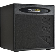 AER Compact Mobile CPM-AKKU Acoustic Guitar Combo Amp Level 1 Black