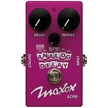 Maxon Compact Series Analog Delay Guitar Effects Pedal