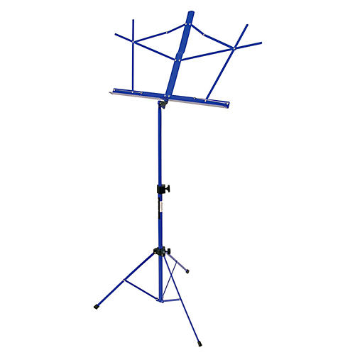 On-Stage Stands Compact Sheet Music Stand Dark Blue