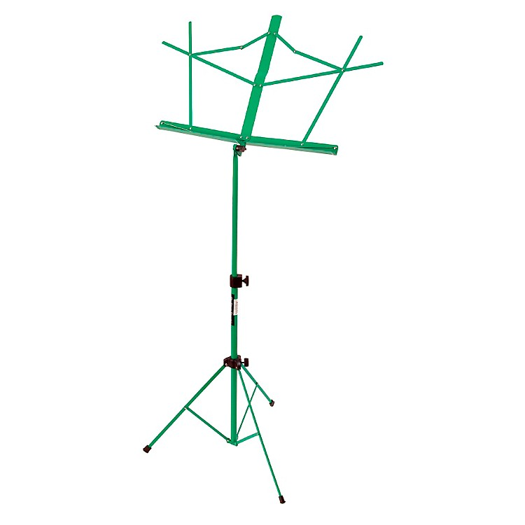 On-Stage Stands Compact Sheet Music Stand Green