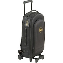 Gard Compact Triple Trumpet Wheelie Synthetic with Leather Trim