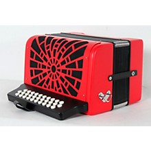 Hohner Compadre GCF Accordion Level 2 Red 190839117465