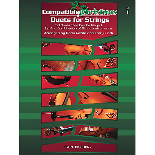 Carl Fischer Compatible Christmas Duets for Strings: String Bass-thumbnail
