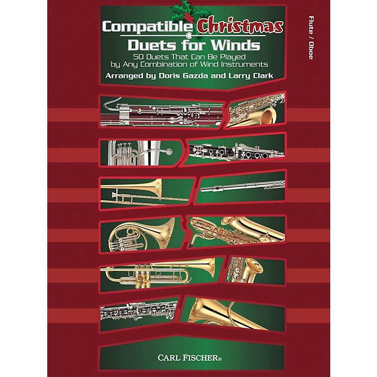Carl FischerCompatible Christmas Duets for Winds: Flute / Oboe