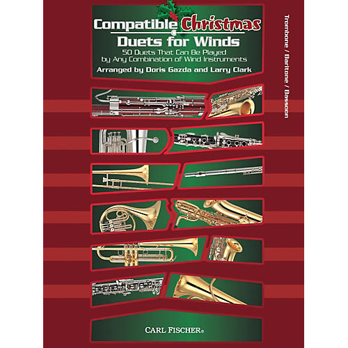 Carl Fischer Compatible Christmas Duets for Winds: Trombone / Baritone / Bassoon-thumbnail