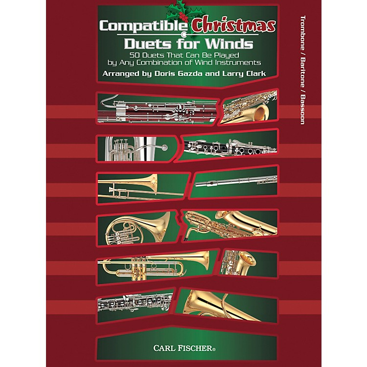 Carl FischerCompatible Christmas Duets for Winds: Trombone / Baritone / Bassoon