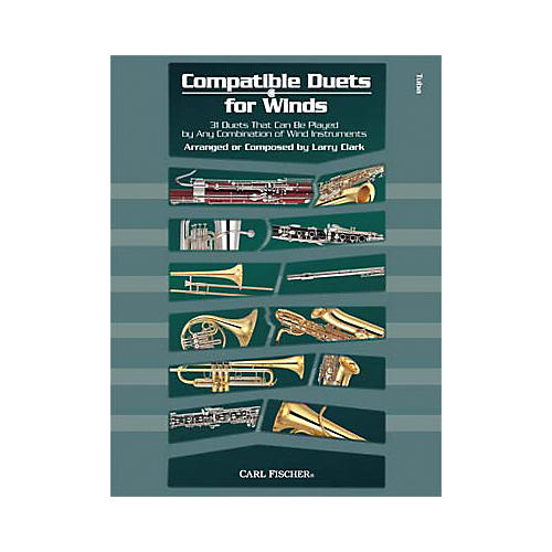 Carl Fischer Compatible Duets for Winds: Tuba Book-thumbnail