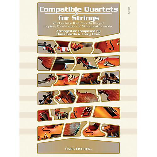 Carl Fischer Compatible Quartets for Strings Book - Bass-thumbnail