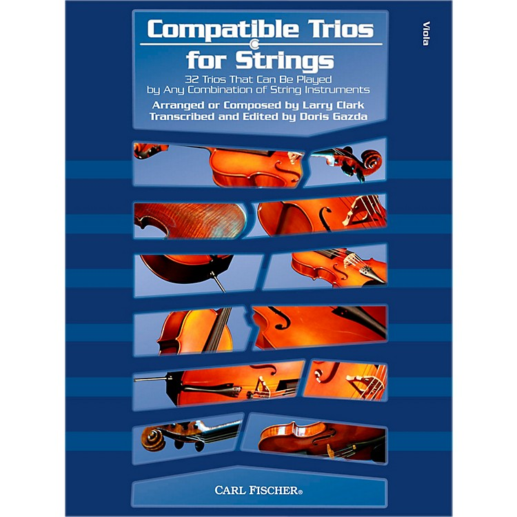 Carl FischerCompatible Trios for Strings - Viola (Book)